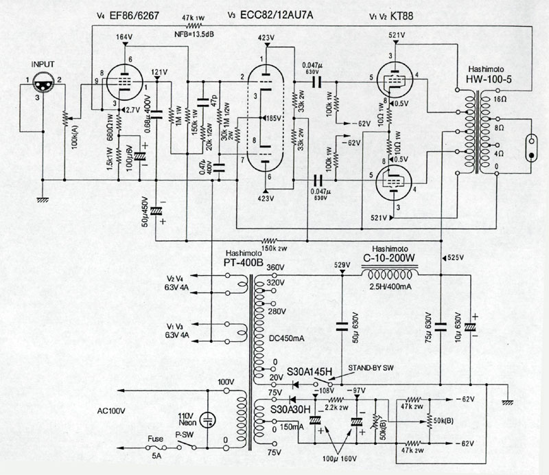 sansui 4000 diagram