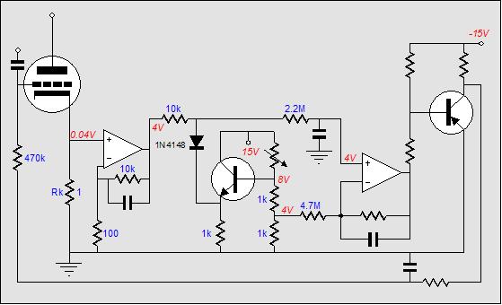dc auto bias circuit