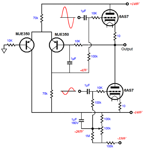 dc bias circuit