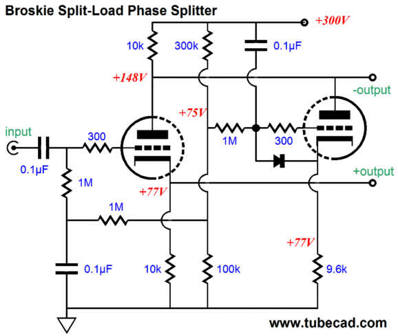 circuit uses two power transistors two power resistors and the