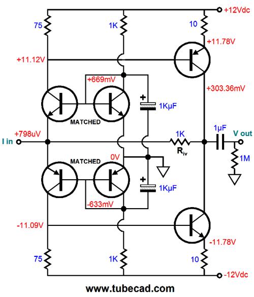 npn to pnp pnp to npn signal converter