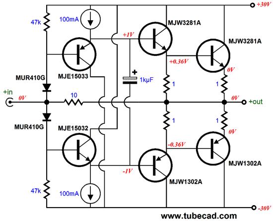 current amplifier circuit transistor current amplifier circuit