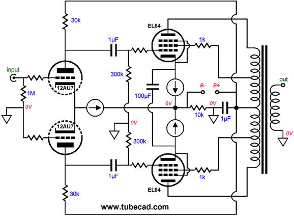 constant current power amplifier