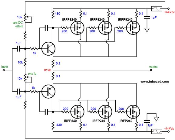 opamp based power amplifier