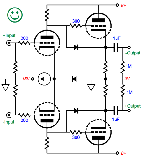 bridging line amplifier