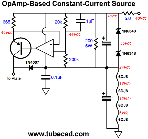 the safe constant current source