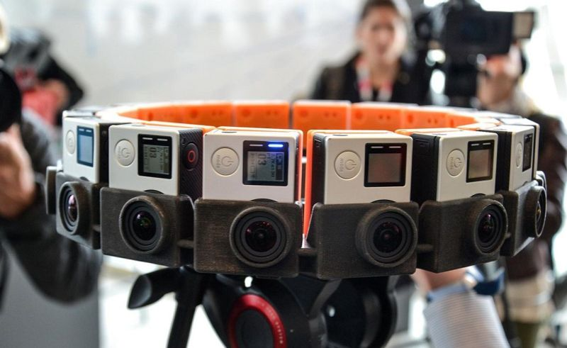 Large Of 3d Video Camera