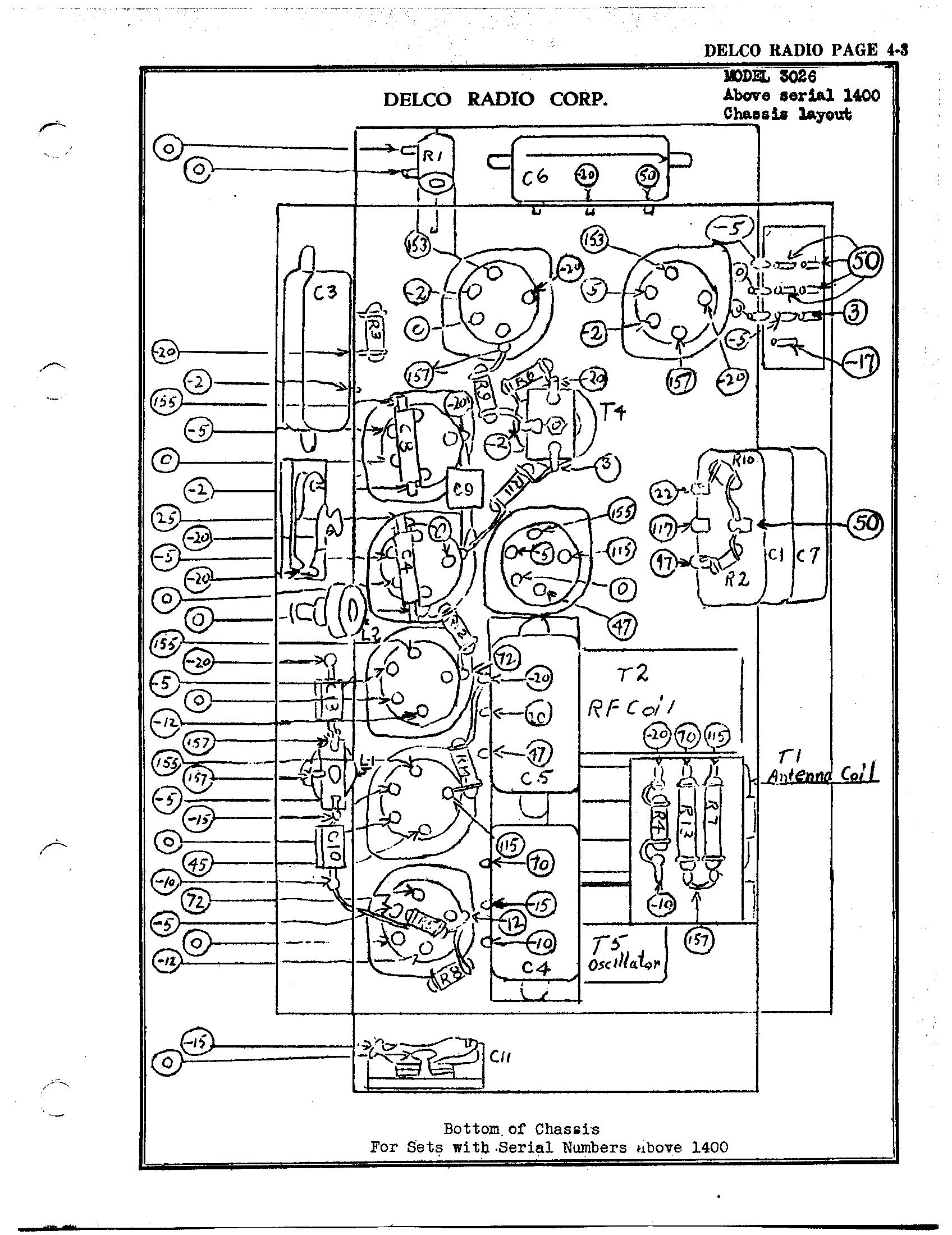 acdelco 1991 radio wiring
