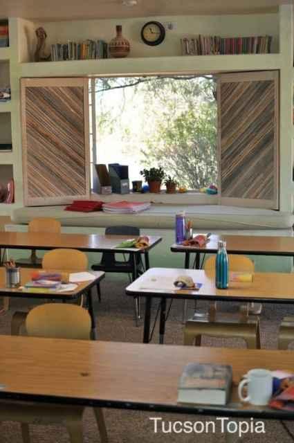 classroom at Tucson Waldorf School