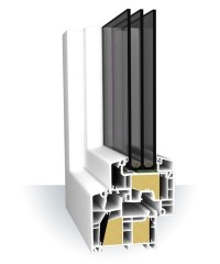 PVC-Fenster Aluplast Ideal 8000 ENERGETO, 53,90 , TFL ...