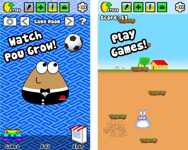 download game pou mod apk offline
