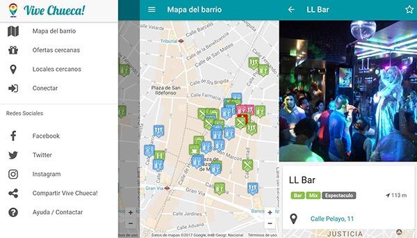 Vive Chueca app