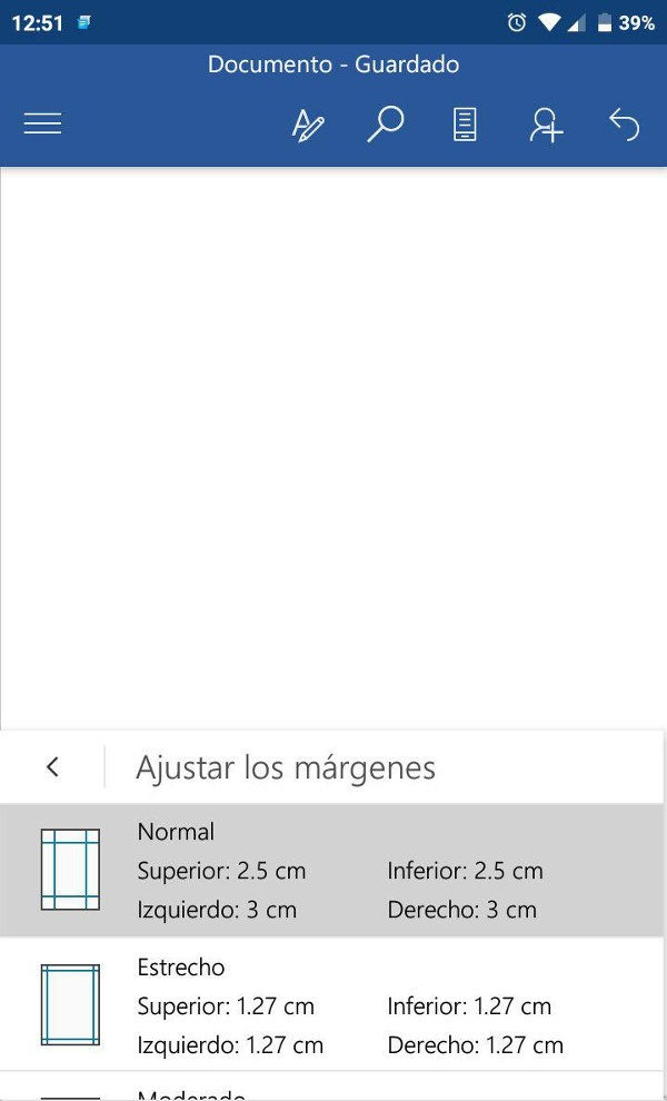 Word Mobile Microsoft Office para Android