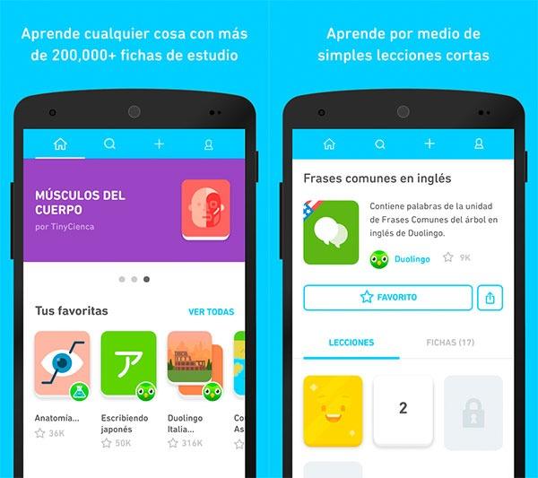 5 apps para aprender jugando TinyCards