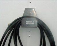 Removable air hose holder