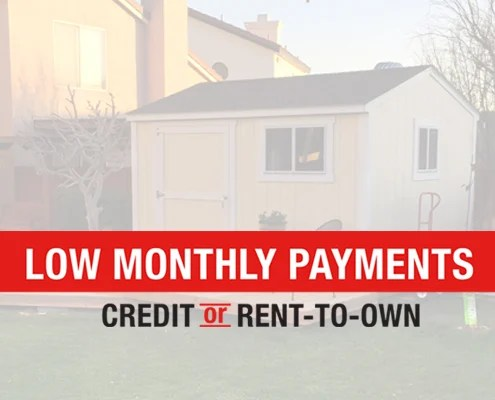 Introducing Rent-To-Own with Tuff Shed - Tuff Shed