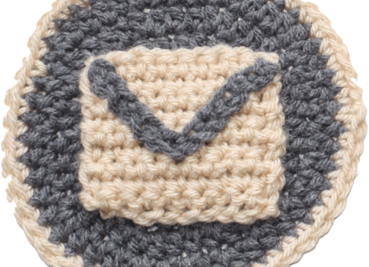 Social Media Icon Pattern: Email