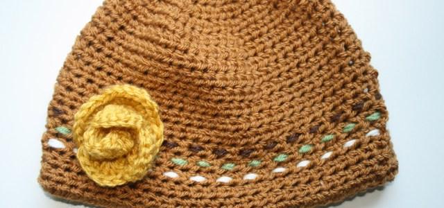 Maggie's Crocheted Beanie