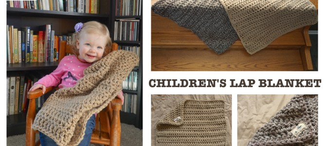 Children's Lap Blanket: Free Crochet Pattern