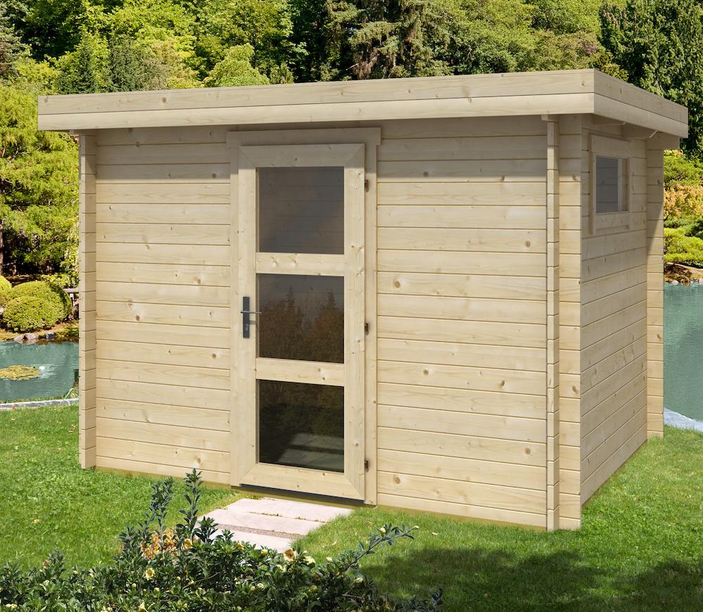 Fullsize Of Modern Log Cabin