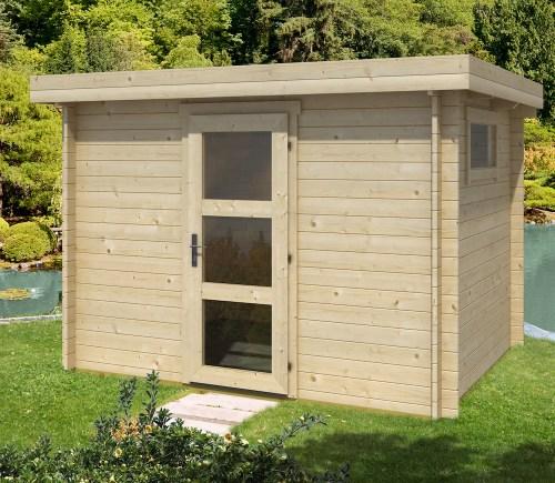 Medium Of Modern Log Cabin