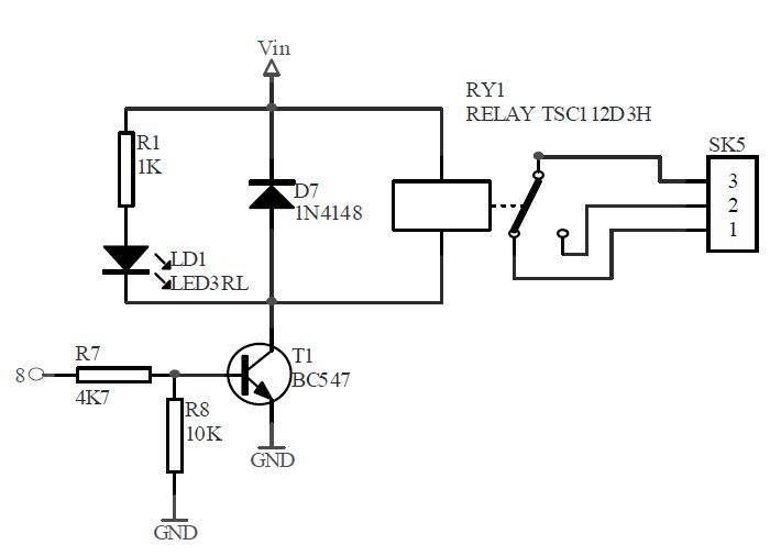 no nc dry contact relay