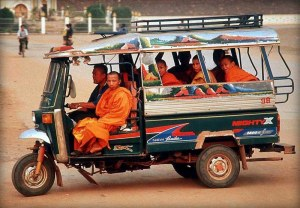 Tuk tuks are an iconic, economical, practical and hardy form of transport.