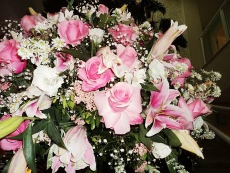 Foto linda de arranjo de flores Beatriz Perkles 25.8.13