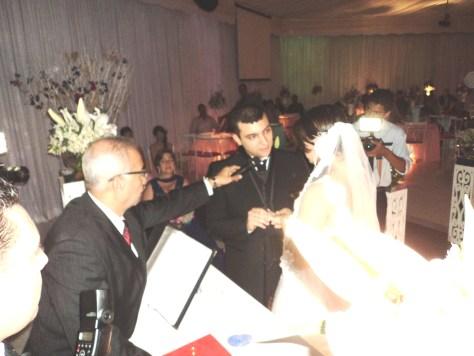 Momento da cerimônia