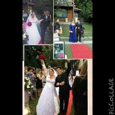foto do casamento bruna e fernando