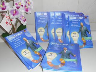 Lançamento do livro: A trajetória de um Mestre de Cerimônias