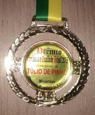 TULIO DE PINHO RECEBE O TITULO DE COMENDADOR EM SÃO PAULO