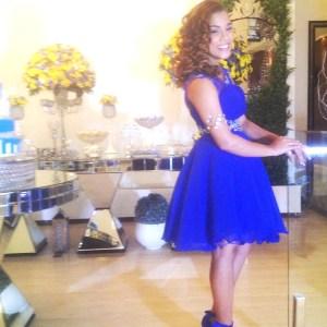 Foto da linda debutante YASMIM.