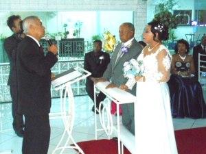 foto de um momento da cerimônia.