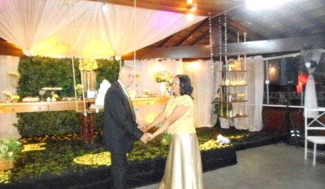 C.erimônia de Bodas de Ouro em Classic Festas,Campo Grande,RJ