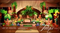 Jungle Animals Theme Party Decoration Ideas in Pakistan