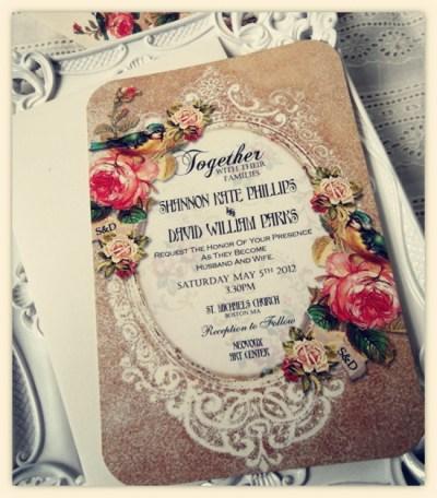 Choose Your Invitation Style – Vintage Wedding Invitations ...