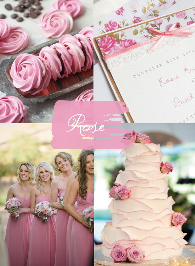 Five Popular Shades of Pink Color Ideas for your Dream Wedding 2015 - pink wedding photo