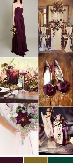 Seemly Aubergine Wedding Color Ideas Bridesmaid Winter Wedding Colors Purple Winter Wedding Colors 2016 Fall Winter Wedding Hot Wedding Color Combination Ideas