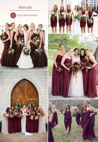 Top 10 Colors for Fall Bridesmaid Dresses 2015 | Tulle ...