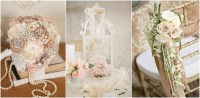 35 Vintage Wedding Ideas with Pearl Details | Tulle ...