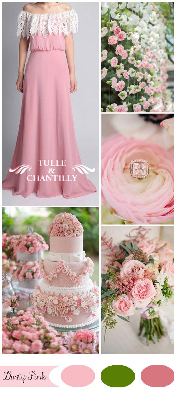 Fullsize Of Rose Coloured Wedding Dresses