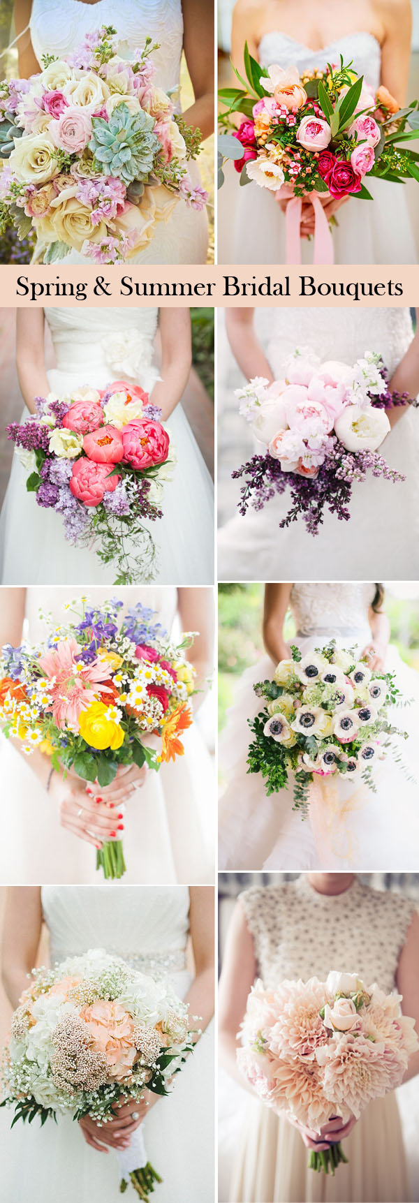 25 swoon worthy wedding bouquets ideas for spring summer brides