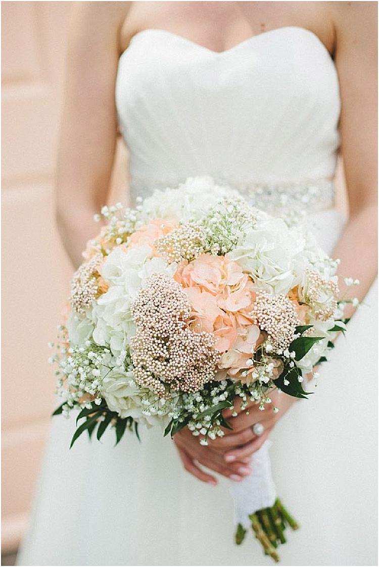 25 swoon worthy spring summer wedding bouquets wedding flower bouquets hydrangea and baby breath bridal bouquets