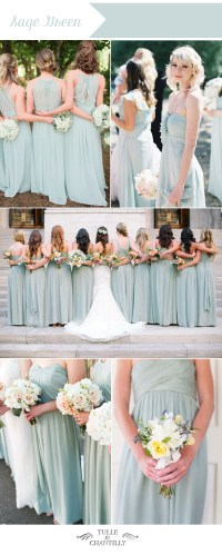 Top 10 Wedding Colors For Summer Bridesmaid Dresses 2016 ...