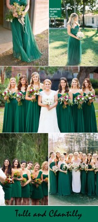 Top 10 Pantone Fall Wedding Colors for Bridesmaid Dresses ...