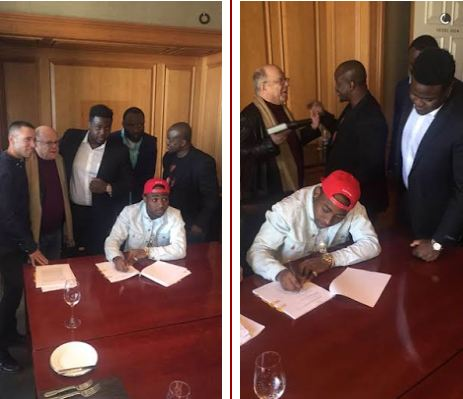 Davido Becomes First African Artist To Sign A Record Deal With Sony Music Global