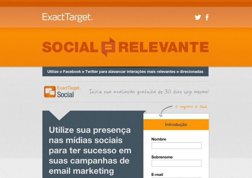 Exact Target - Brazil Landing Page - Tune Development