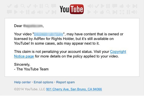 TunePocket - How To Resolve YouTube Copyright Claims