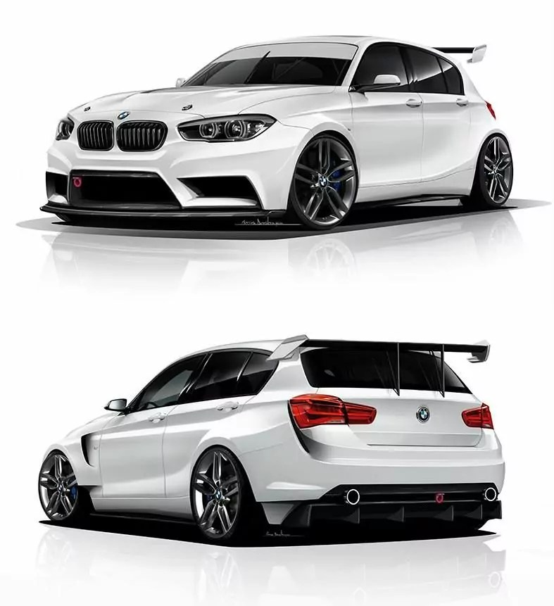 ADF Motorsport BMW 1 F20 LCI BMW 1 Pinterest BMW - vehicle release form